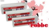 ROXXY® POWER ZX 2S 4500mAh 25C