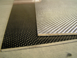 Carbon   doska 290x160 mm+ herex 3 mm