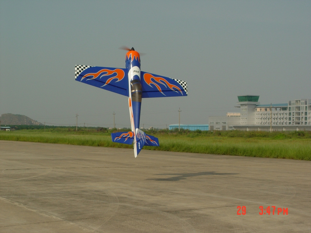 YAK54 40%/blue  flame