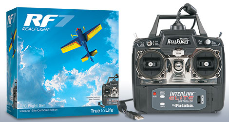 RealFlight 7,5 Mode2 Interlink Elite English
