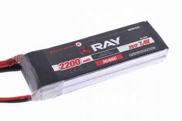 Akku G4 RAY Li-Po 2200mAh/7,4 30/60C Air pack